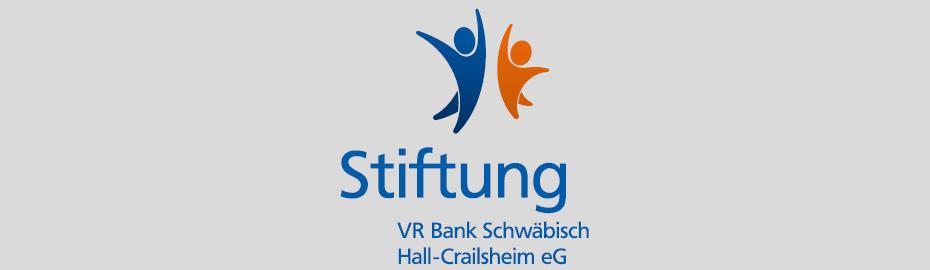 Logo der VR Bank Schwäbisch Hall-Crailsheim-Stiftung